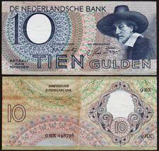 10 GULDEN 1944 PAYS BAS / NETHERLANDS - P59
