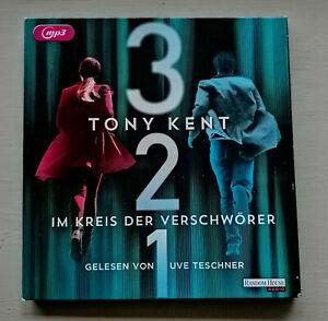 "Sammlungsauflösung Hörbücher: TONY KENT ""Im Kreis der Verschwörer"""