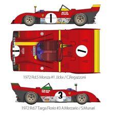 1/12 KIT Ferrari 312 PB 1972 model factory hiro mfh k587