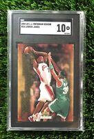 2004 Upper Deck Freshman Season LeBron James #24 SGC 10 GEM MINT (comp PSA 10?)