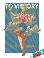 🇺🇸 PIN-UP No.71 - 1st.Limited Edition Hand Signed & Numbered by KOUFAY, COA