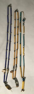 Vintage Glass Mardi Gras Beads, made In Occupied Japan