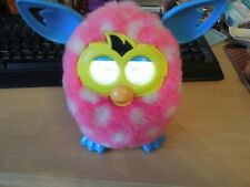 Pink & White Spot Furby Electronic Pet 2012 - Working - Great Condition