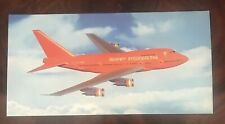 Braniff International Airlines - Boeing 747 - 227B Aircraft Postcard