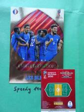 Panini 2018 Fifa World Cup Russia Limited XXL LES BLEUS FRANCE  Adrenalyn RARE