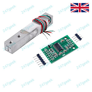 🇬🇧 20Kg Load Cell Weighing Scale Sensor with HX711 for Arduino PIC - UK