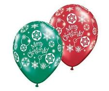 Ballons de fête rouge pour la maison Noël
