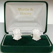 SILVER HALF CROWN CUFFLINKS from real coins with 925 Silver backs