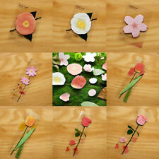 Random Flower Leaf Stickers Post-It Memo Bookmark Flags Index Tab Sticky Notes
