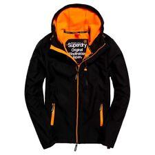 Superdry Men's Hooded Windtrekker Jacket Navy | Emergency Orange Sizes: M, L