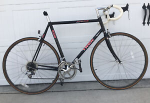 1991 Trek 1000 Aluminum Vintage Road Bike 58cm Made In The USA