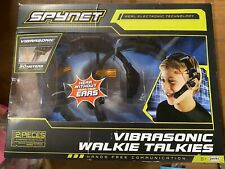 SpyNet Vibrasonic Walkie Talkie