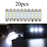 20pcs 36mm 3SMD 5050 6418 C5W CANBUS Error LED Bulb License Plate Dome Light