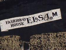 ELSA (FashionHouse) FrontZipLongLinedTweedSkirtSizeM