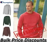 Champion Mens Double Dry Eco Crewneck Sweatshirt Pullover S600 up to 3XL