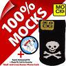 Mocks Crâne et OS Pirate Jolly Roger Téléphone Portable MP3 Chaussette Étui