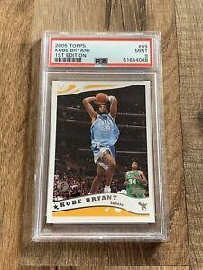 2005-06 Topps 1st Edition #69 Kobe Bryant Los Angeles Lakers HOF PSA 9 MINT