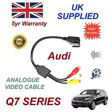 Per AUDI Q7 2010+ AMI MMI 4F0051510N Fono RCA Cavo Audio Video