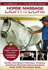 Horse Massage: Light to the Core by Jim Masterson-Brand New and Sealed