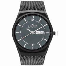 Skagen Original SKW6006 Men's Aktiv Black PVD Stainless Steel Mesh Watch 40mm