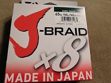 Daiwa Fishing Line J Braid Dark Green