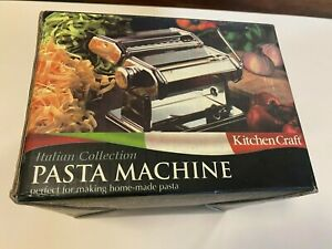 Kitchen Craft Pasta Machine Used Once  then reboxed!