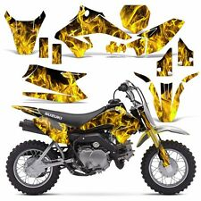 Decal Graphic Kit Suzuki DRZ 70 Dirt Bike Sticker Backgrounds DRZ70 15-16 ICE Y