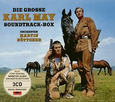 MARTIN BOETTCHER - Die große Karl May soundtrack-box (3-CD) - COLONNE SONORE