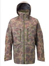 Burton [ak] 3L Men's Hover Jacket Kodiak Camo GORE-TEX PRO Size MEDIUM MSRP $629