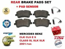 Para Mercedes CLK CLS E CLASE S Sl SLK 2001- > Juego de Pastillas Frenos