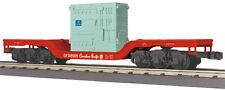 MTH 30-76508, Canadian Pacific #CP309905 Depressed Center Flatcar w/Transformer
