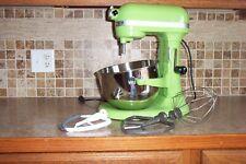 KitchenAid Professional 600 6 Quart Mixer GREEN w/3 Attachments & Mixer Bowl