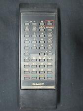 SHARP TV/AV Remote MODEL : G0662PESA