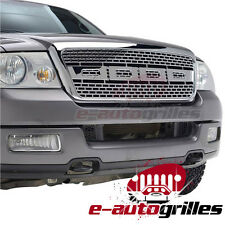 2004-2008 Ford F-150 Chrome ABS Vicious Conversion Replacement Grille With Shell