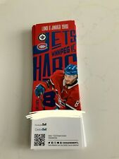 unused season hockey tickets Montreal Canadiens jan6