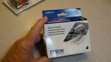 Epson T007201 Black Ink Cartridge New Sealed Fast Shipping