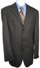 Chereskin Lambswool Men's Jacket Blazer  Charcoal Gray  Sz: 42L