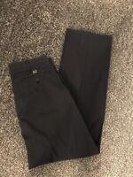 Armani Jeans Men's Chino Trousers Navy Blue W32 L34 AJ