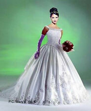 New ListingMarys Bridal Battenburg Lace Princess Style Wedding Dress Gown Size 8 Nwt