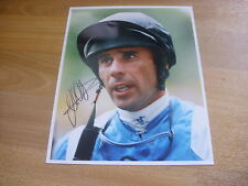 John Carroll horse racing jockey 11/09/97 original main Photo de presse signé