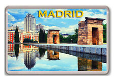 MADRID TEMPLE OF DEBOD FRIDGE MAGNET SOUVENIR NEW