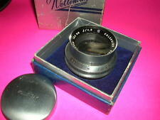 WOLLENSAK 162 MM/ 4.5 LENS FOR ENLARGING SMOOTH DIAPHRAM PERFECT GLASS BOXED
