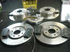 Peugeot 406 2.2 Sri 00-01 Front Rear Brake Discs+Pads