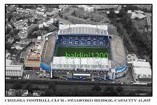 CHELSEA F.C. - STAMFORD BRIDGE - LOOKS AWESOME FRAMED