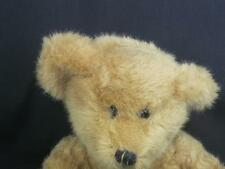 WISH PET TEDDY BEAR THEODORE GOLDEN BROWN SHAGGY SITS PLUSH STUFFED ANIMAL TOY