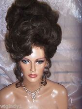 WIGS SUPER HIGH UP DO PETAL CURLS RINGLETS SO GLAMOROUS DRAG QUEENS HOT LOOK