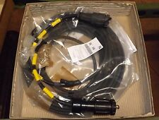 AB Connectors.Cable assembly.ELTEM.With plugs.Pt.No.30222.NIB.