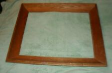 vintage plain wooden picture frame inside dimensions are 20 by 16 inches