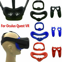 For Oculus Quest VR Eye Mask Cover Light Blocking & Dual Handles Case Anti-sweat