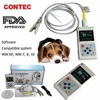 CMS60D-VET CONTEC  Vétérinaire Veterinary oxymètre Spo2 moniteur, logiciel PC